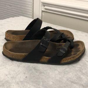 Women's Birkenstock black sandals